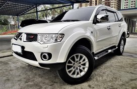 White 2012 Mitsubishi Montero Sport for sale in Metro Manila