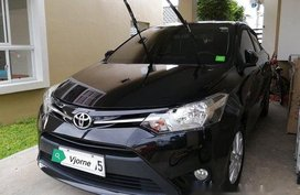Black Toyota Vios 2017 Automatic Gasoline for sale
