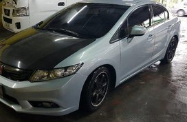 Sell Silver 2013 Honda Civic at 40000 km