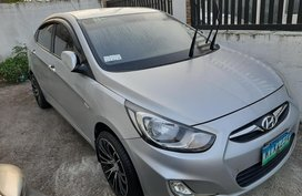 Silver 2013 Hyundai Accent Sedan for sale in Imus