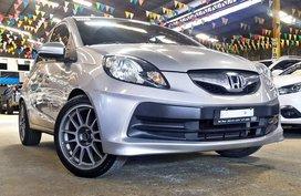 Silver 2015 Honda Brio at 42000 km for sale in Quezon City