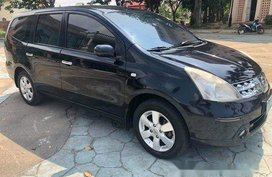 Black Nissan Grand Livina 2009 for sale