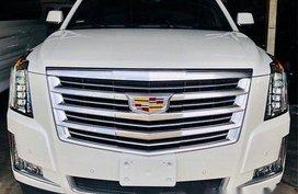 White Cadillac Escalade 2019 Automatic Gasoline for sale