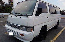 Sell White 2013 Nissan Urvan Manual Diesel at 46000 km
