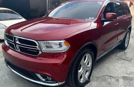 Selling Red Dodge Durango 2015 at 50000 km