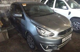 Grey Mitsubishi Mirage 2017 for sale in Makati