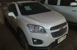 Sell White 2016 Chevrolet Trax Automatic Gasoline at 23000 km