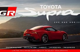 2019 Brand New Toyota Supra for sale in Las Pinas