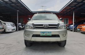 Used Toyota Fortuner 2008 G for sale in Las Pinas