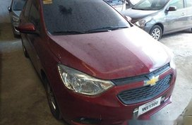 Red Chevrolet Sail 2018 Automatic for sale