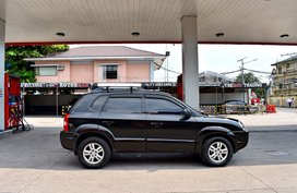 Black 2007 Hyundai Tucson for sale in Lemery
