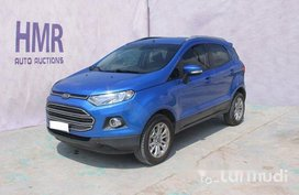 Sell Blue 2018 Ford Ecosport Automatic Gasoline at 13721 km