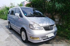 Selling Silver Nissan Serena 2002 Automatic Gasoline