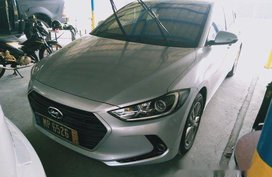 Silver Hyundai Elantra 2016 for sale in Quezon City