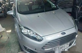 Sell Silver 2014 Ford Fiesta in Quezon City
