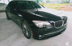 Selling Black Bmw 750Li 2013 in Quezon City
