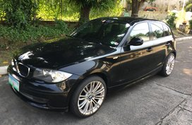 Black 2011 BMW 118D Automatic Diesel for sale