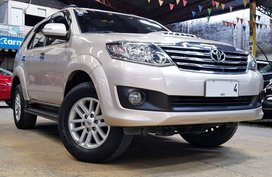 2014 Toyota Fortuner G 2.5 4X2 Diesel Automatic Casa Maintained!