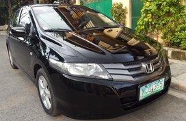 Black Honda City 2009 at 68000 km for sale in Valenzuela