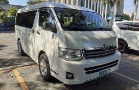 Used White Toyota Hiace 2013 Automatic Diesel for sale in General Salipada K. Pendatun