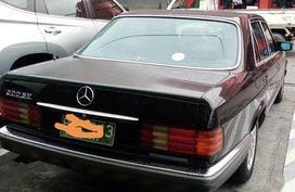 1987 Mercedes-Benz S-Class for sale in Parañaque