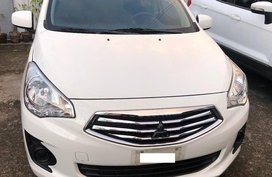 White Mitsubishi Mirage G4 2018 for sale in Dasmariñas