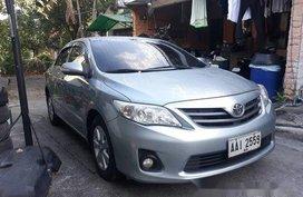 Silver Toyota Corolla Altis 2014 Automatic Gasoline for sale