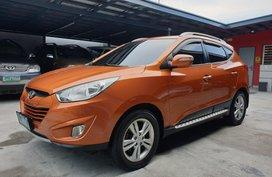 Orange Hyundai Tucson 2014 Acquired 4x4 Diesel Automatic in Las Pinas