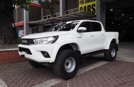 Used Toyota Hilux 2.8G 2016 4x4 Arctic for sale in Pasig
