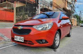Selling Orange Chevrolet Sail 2017 at 26000km in Manila