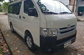 White Toyota Hiace 2019 for sale in Quezon City