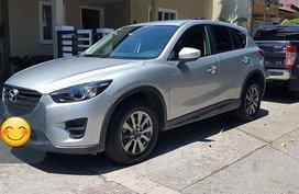 Used Silver/Grey Mazda Cx-5 2015 Automatic Gasoline for sale in Manila