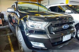 Sell Black 2018 Ford Ranger in Quezon City