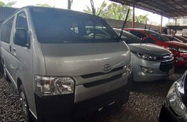 Silver Toyota Hiace 2018 for sale in Quezon City