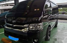 Black Toyota Hiace 2015 at 56182 km for sale