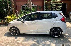 White Honda Jazz 2015 Automatic Gasoline for sale
