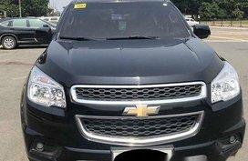 Selling Black Chevrolet Trailblazer 2014 Automatic Diesel at 25000 km