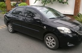 Black 2012 Toyota Vios 1.3E for sale in Paranaque