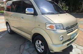 Beige Suzuki Apv 2010 Automatic Gasoline for sale0