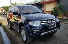 Used Blue Mitsubishi Montero sport 2015 Automatic for sale in Manila