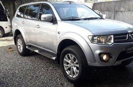 Selling Blue Mitsubishi Montero 2014 SUV/MPV at  Automatic Diesel in Manila