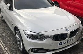 Selling White Bmw 420D 2017 Automatic Diesel at 9000 in Manila