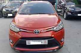 Sell Red 2016 Toyota Vios at Manual Gasoline at 18000km in Manila