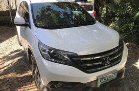 White Honda Cr-V 2013 for sale in Cebu