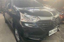 Black Toyota Avanza 2018 Manual Gasoline for sale