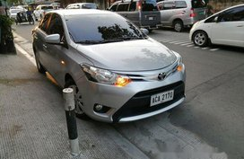 2nd-Hand Silver/Grey Toyota Vios 2014 for sale in Manila