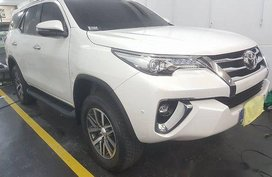 Sell White 2019 Toyota Fortuner in Quezon City