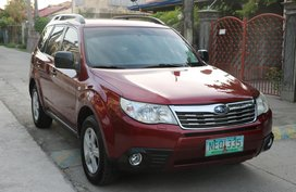 Sell Red 2010 Subaru Forester Automatic Gasoline in Bacoor
