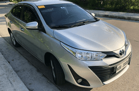 Selling Silver Toyota Vios 2019 Sedan at 6000 km