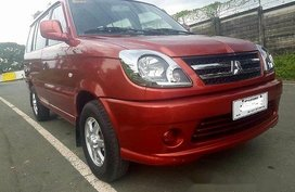 Red Mitsubishi Adventure 2015 at 23000 km for sale